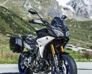 Yamaha MT-09TRASP Refined Body