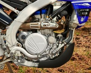 2019 YZ250FX Slanted Engine