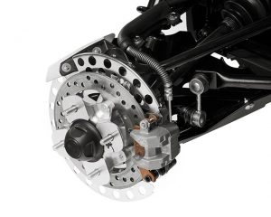Four Wheel Hydraulic Disc Brakes