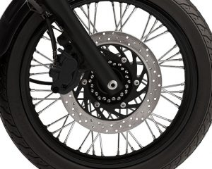 XVS650 Powerful Brakes
