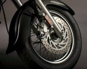 XVS650A Powerful Brakes