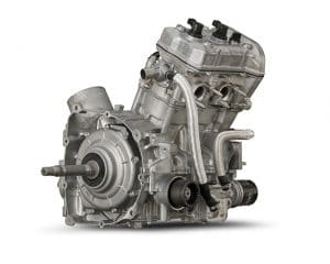 YXF850P Twin Cylinder Engine